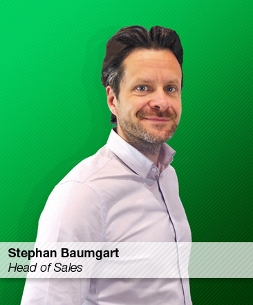Stephan Baumgart, Head of Sales at Bofa